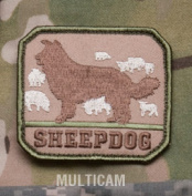 Mil-Spec Monkey Sheepdog Morale Patch - Multicam
