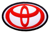 TOYOTA Logo Cars Motors Trucks Logo Clothes CT12 Iron on Patches