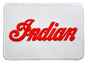 INDIAN Motorcycle Sign Club Clothing BI02 sew iron on Patches