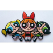 Powerpuff Girls Blossom Bubbles and Buttercup Iron or sew On Patch by Twinkle Lable