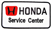 HONDA Service Centre Cars Team official Clothing CH04 Patches