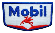 Mobil 1 one synthetic Racing Oil gas station Logo Shirts GM02 Patches