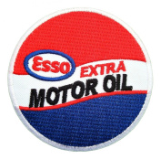 Esso Extra motor Oil Gas Mobil Fuel Logo Shirts GE03 Iron on Patches