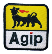 Agip Oil Company Petroleum F1 Symbol Clothing GA02 patches
