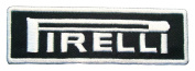 PIRELLI Tyres Tyres Rims Symbol t Shirts PP02 Iron on Patches