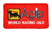 Agip petroleum lubricants Oil company Sign apparel GA03 patches