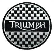 Triumph Motorcycles Racing Vintage Biker Logo t Shirt BT09 iron on Patches