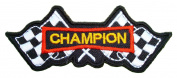 CHAMPION Flag Bikes Motorsport Racing Logo t Shirts PC02 Patches