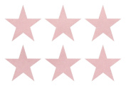 Fabric Suede 50mm Star Iron-On Fabric Transfer