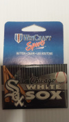 Officially Licenced MLB Chicago White Sox Button Pin 5.1cm x 7.6cm