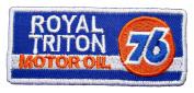 ROYAL TRITON UNION 76 Motor Oil Gas Station emblem GU06 Patches