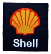 Shell Gas Stations Oils F1 Formula 1 Racing Clothing Black Label GS14 Patches