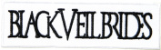 BLACK VEIL BRIDES Heavy Metal Rock Punk Music Band Logo Polo T shirt Patch Sew Iron on Embroidered Badge Sign Costum