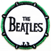 THE BEATLES Music Band Logo Jacket T-shirt Patch Sew Iron on Embroidered Badge Sign