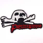 Pennywise punk rock band Embroidered Iron On Patches # WITH.