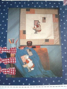 I PLEDGE ALLEGIANCE - APPLIQUE SEWING PATTERN FROM THE WHOLE COUNTRY CABOODLE