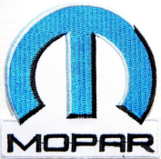 Mopar Parts Chrysler Jeep Dodge Logo Jacket T-shirt Patch Sew Iron on Embroidered Badge Emblem Sign Size 7.6cm width X 7.6cm height By HJR Shop