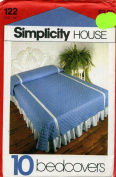 Simplicity 1981 Bedcovers Sewing Pattern #122