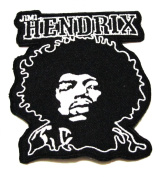 JIMI HENDRIX Band Logo Heavy Metal Punk Rock Music Jacket T-shirt Patch Sew Iron on Embroidered Badge Sign Cloth