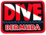 Dive Bermuda Patch Embroidered Iron On Scuba Diving Flag Emblem Souvenir