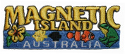 Magnetic Island Australia Travel Souvenir Embroidered Iron On Patch