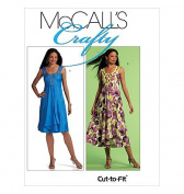 McCall's Crafty, M5844, Sizes 6-8-10-12