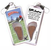 "Minneapolis ""FootWhere"" Souvenir Zipper-Pull"