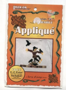 Scarecrow Fall Autumn Halloween Iron-On Transfer Wearable Applique Kit