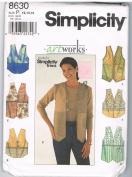Simplicity 8630 Artworks Vest
