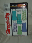 "Simplicity Sewing Pattern #14050cm It's So Easy"" - Misses' Dress"