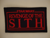 Star Wars Revenge of the Sith Movie Promo Iron-on Patch