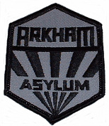 BATMAN Arkham Asylum Sanatorium Uniform Logo PATCH