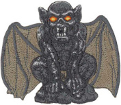 Gargoyle Embroidered Patch 9cm x 8cm