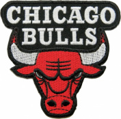 Chicago Bulls Patches Embroidered Iron on Patch 8x8 Cm / Shopping Mania