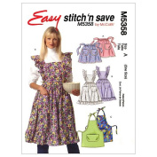 McCall's Patterns M5358 Misses' Aprons, Size A