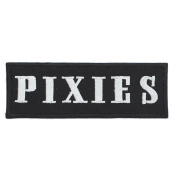 RetroStar - PIXIES Rock Band Iron-on Patch