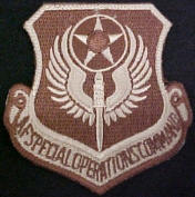 Air Force Special Operations Command - DCU Desert Patch