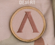 Mil-Spec Monkey Lambda Morale Patch Desert
