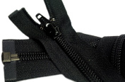 Sale 250cm Sleeping Bag Separating Zipper (Special) YKK #5 Nylon Coil Zipper ~ Black