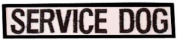 Small Service Dog Bar Patch