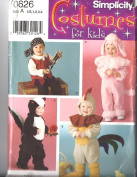 Costumes For Kids Simplicity Pattern 0626