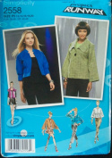 Simplicity 2558 Sewing Pattern ~ Project Runway Misses' Jackets, Sizes 12-20