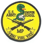 USA Sniper Small Patch