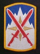 10th Support Brigade Dress Patch