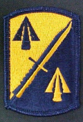 158th Infantry Brigade Dress Patch