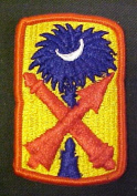 263rd ADA (Air Defence Artillery) Full Colour Dress Patch