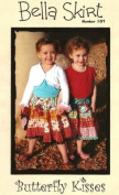 Bella Skirt Sewing Pattern by Butterfly Kisses Size 3-12 yrs old