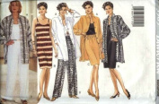 Butterick Sewing Pattern 3909 Misses' Shirt, Dress, Top, Skirt & Pants, Size 12-14-16