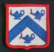 Command and General Staff Full Colour Dress Patch