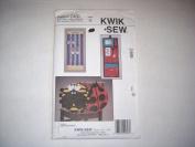 KWIK SEW PATTERN #2469 Back Packs, Locker Organiser, Hair Accessory Holder & Bows